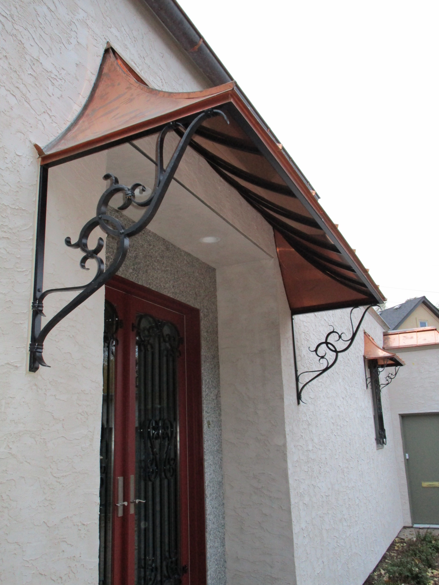 Wrought Iron Awnings Metal Awnings O Brien Ornamental Iron