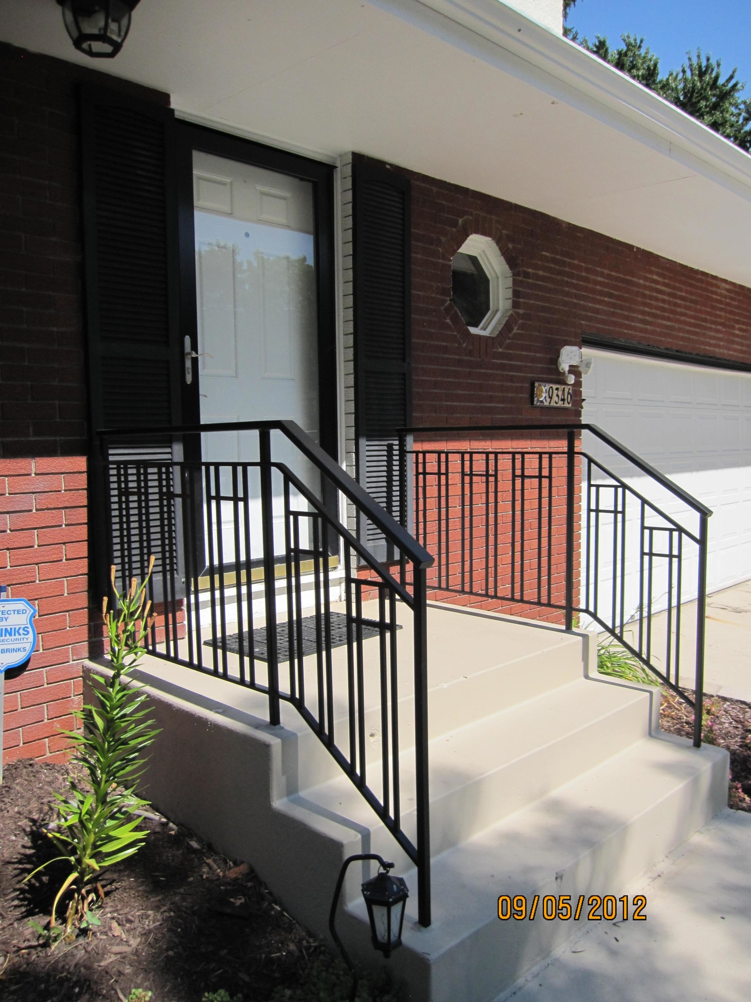 Exterior Step Railings O Brien Ornamental Iron