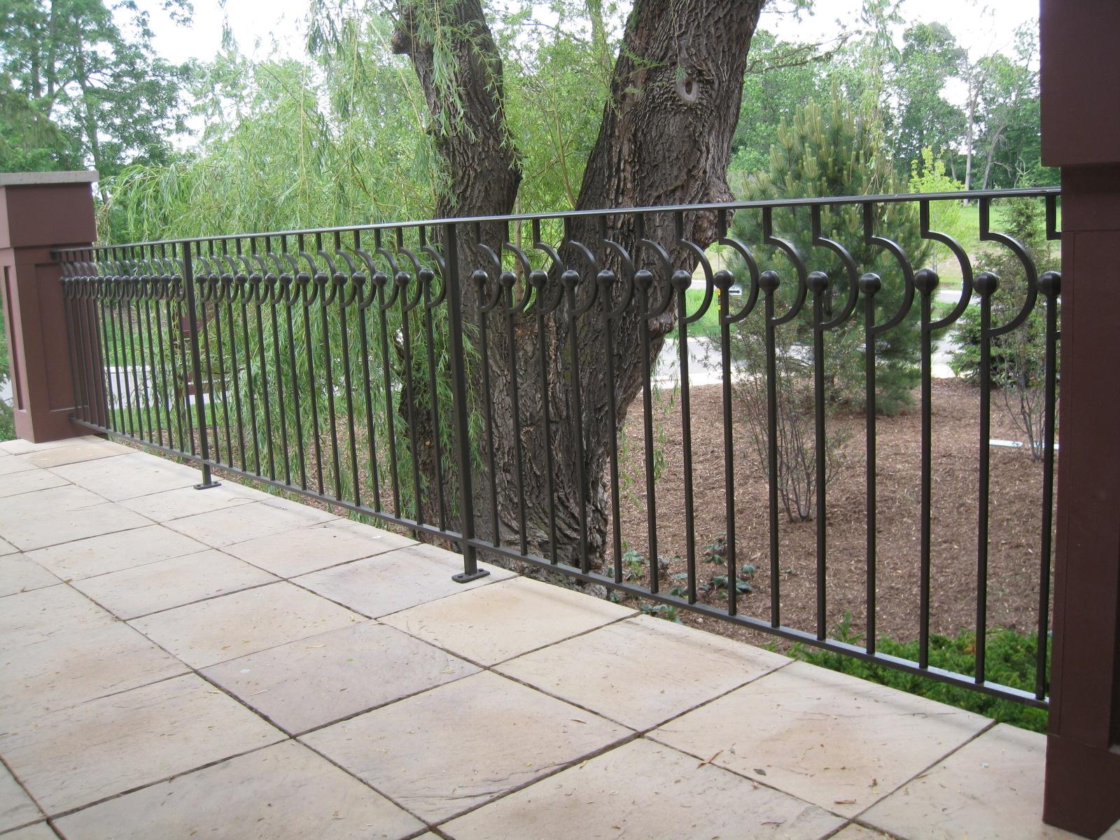 deck railings o 39 brien ornamental iron