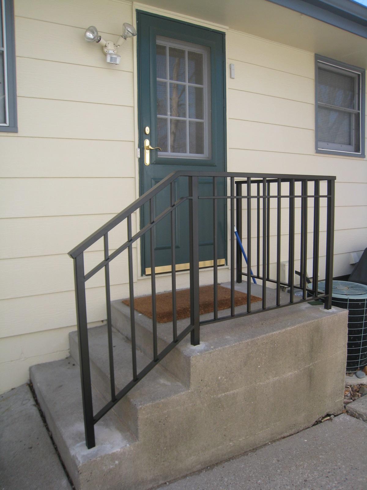 exterior step railings o 39 brien ornamental iron