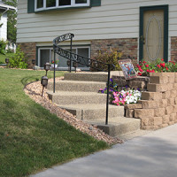 Exterior Step Railings